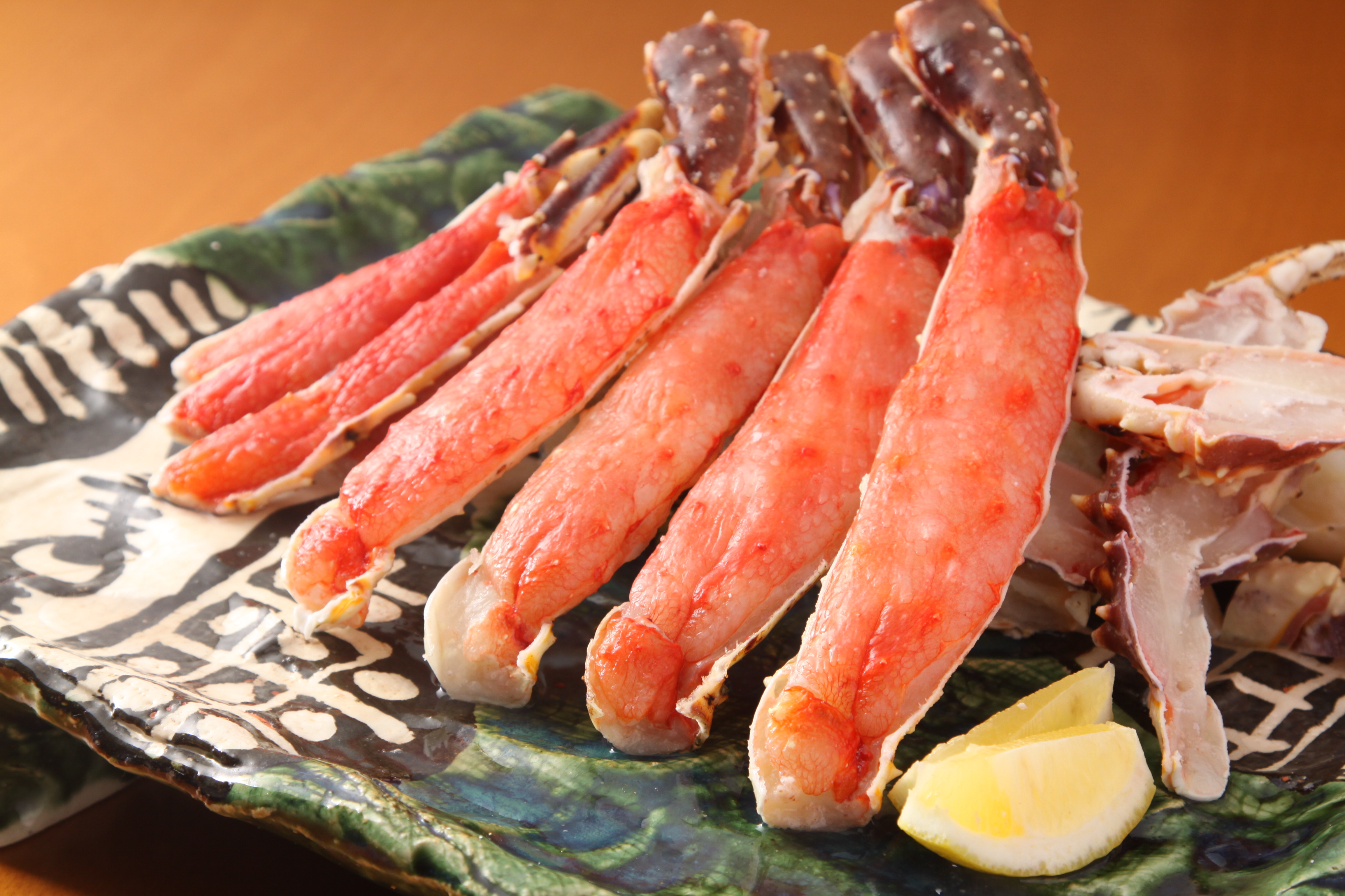 たらばがにの基本の食べ方~タラバガニのお刺身